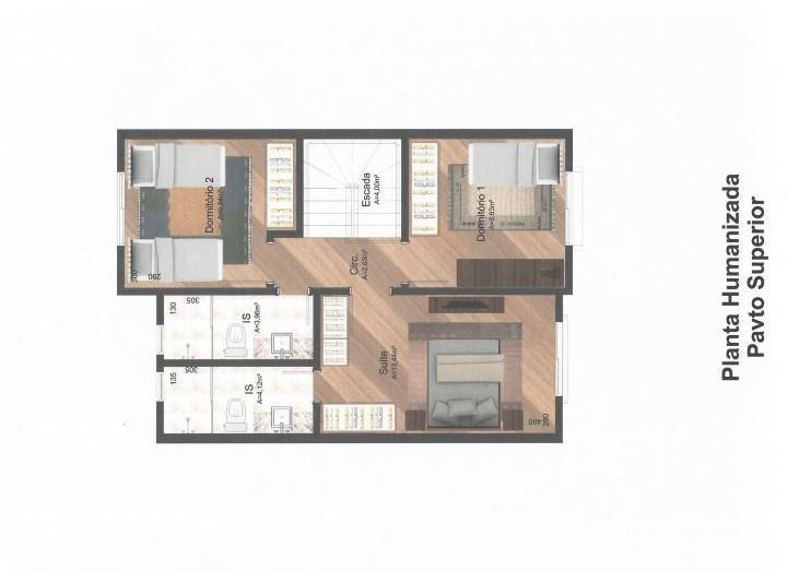 Casa de 3 dormitórios à venda em Rebouças, Curitiba - PR