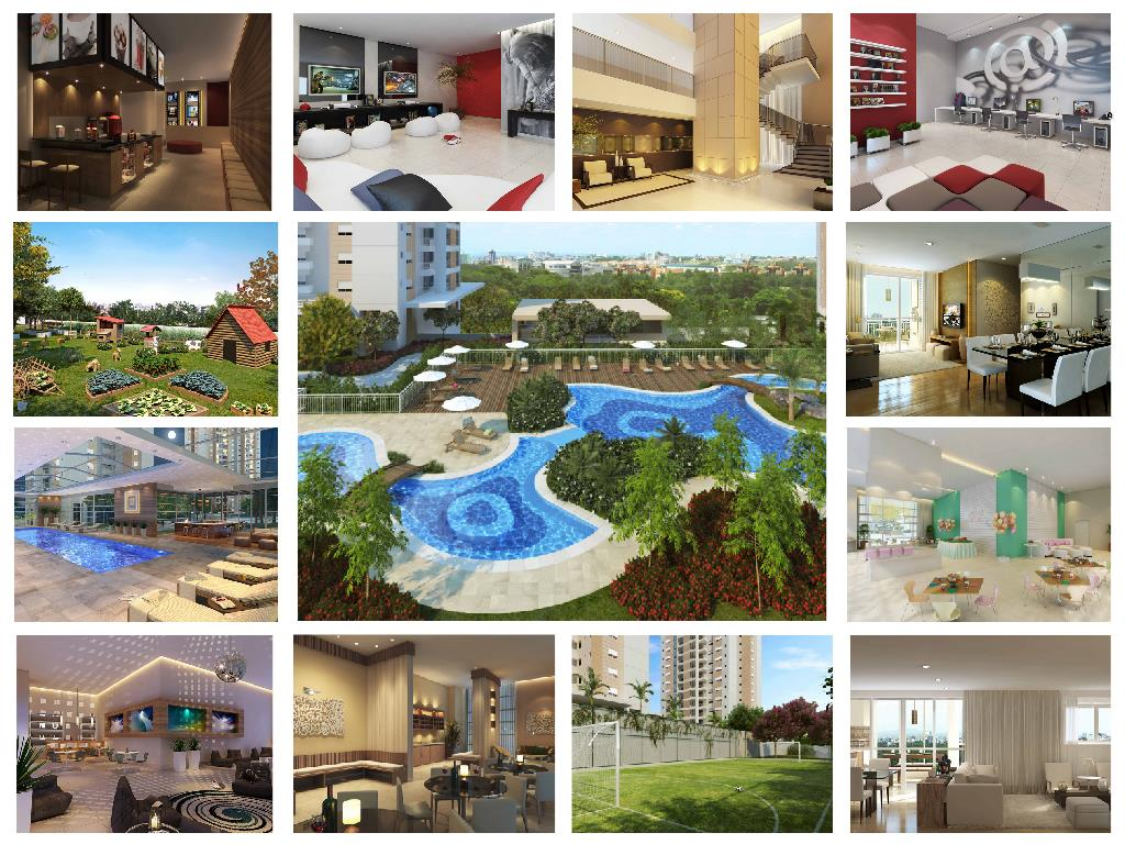 Apartamento de 2 dormitórios em Ecoville, Curitiba - PR