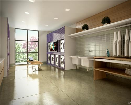 Studio de 1 dormitório em Centro Cívico, Curitiba - PR