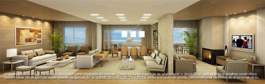 Apartamento de 3 dormitórios em Campina Do Siqueira, Curitiba - PR