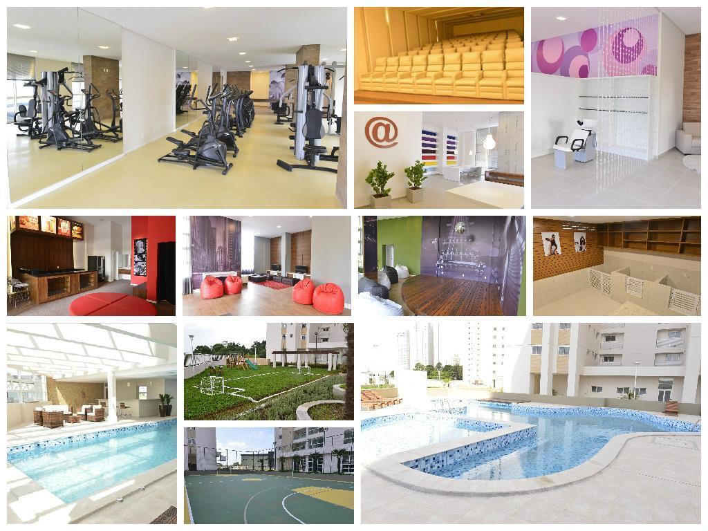 Apartamento de 4 dormitórios em Ecoville, Curitiba - PR