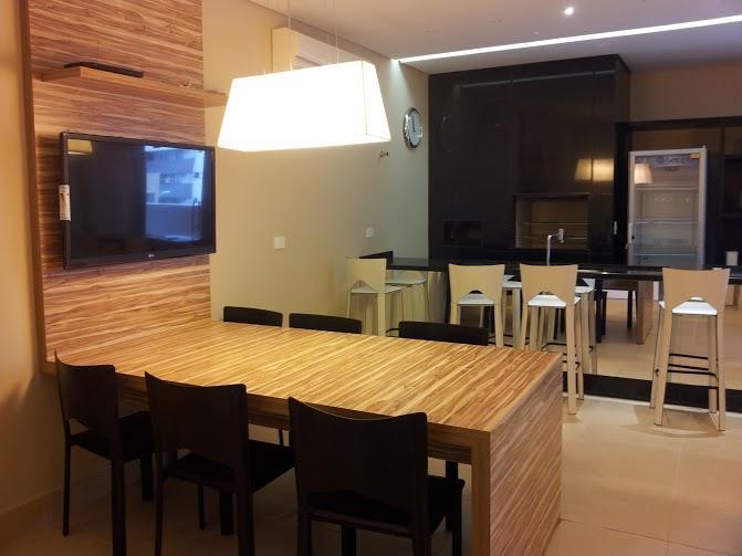 Studio de 1 dormitório em Bigorrilho, Curitiba - PR