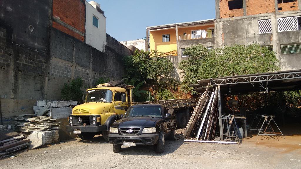 Barracão à Venda - Vila Carmosina