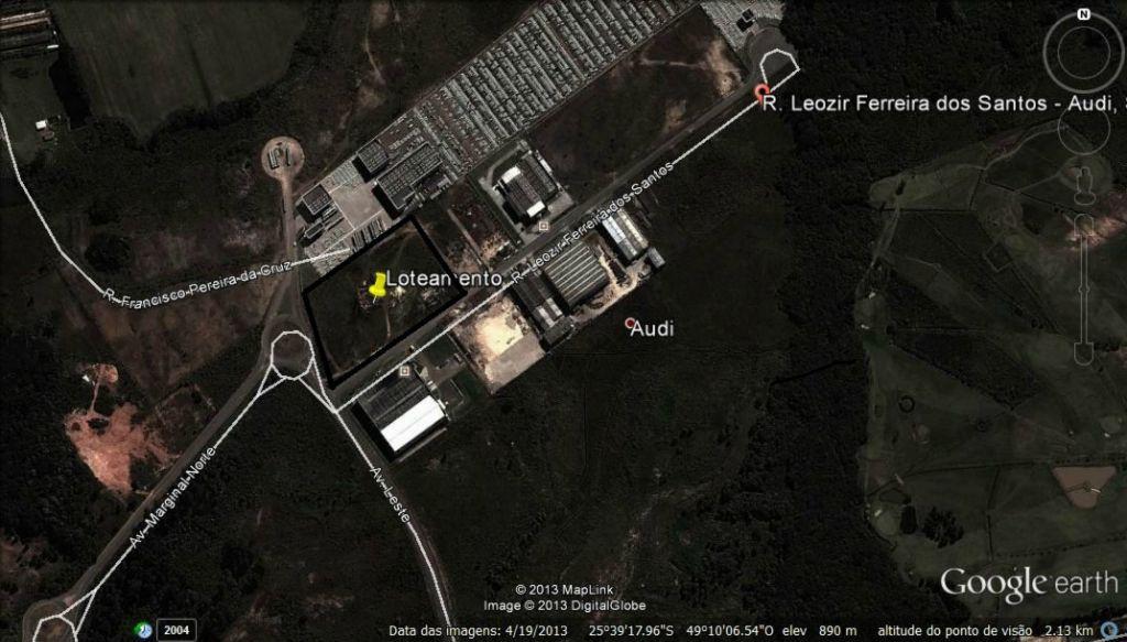 Terreno para Locação - Campo Largo da Roseira