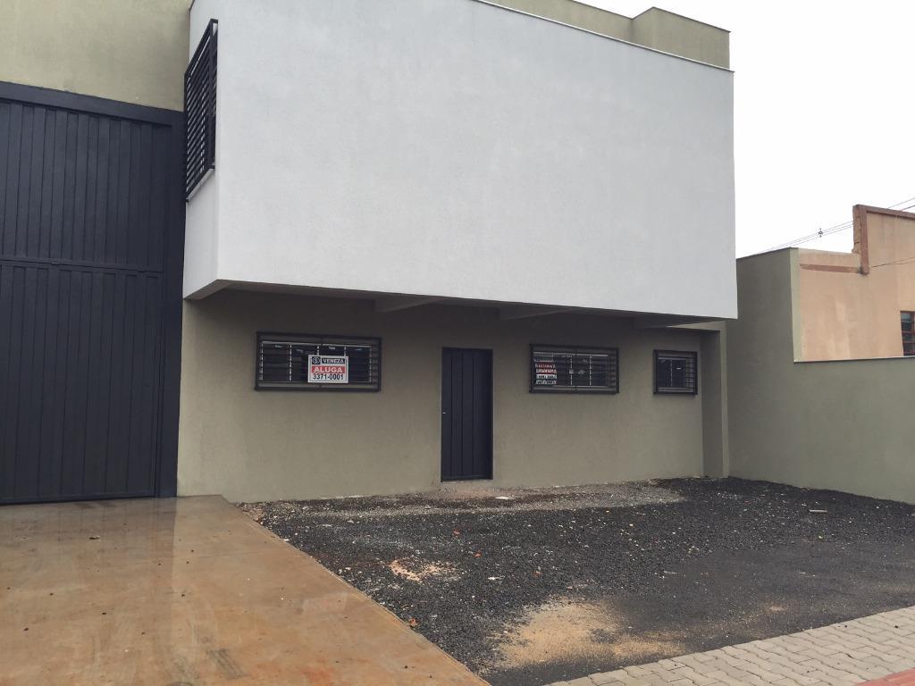 Barracão para alugar, 680 m² por R$ 6.400,00/mês - Estados - Londrina/PR