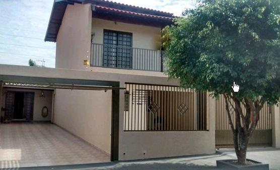 Sobrado residencial à venda, Jardim Continental, Londrina - SO0024.