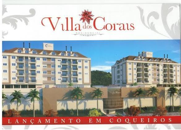 Apto 4 Dorm, Coqueiros, Florianópolis (AP0355)