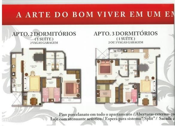 Apto 4 Dorm, Coqueiros, Florianópolis (AP0355) - Foto 2