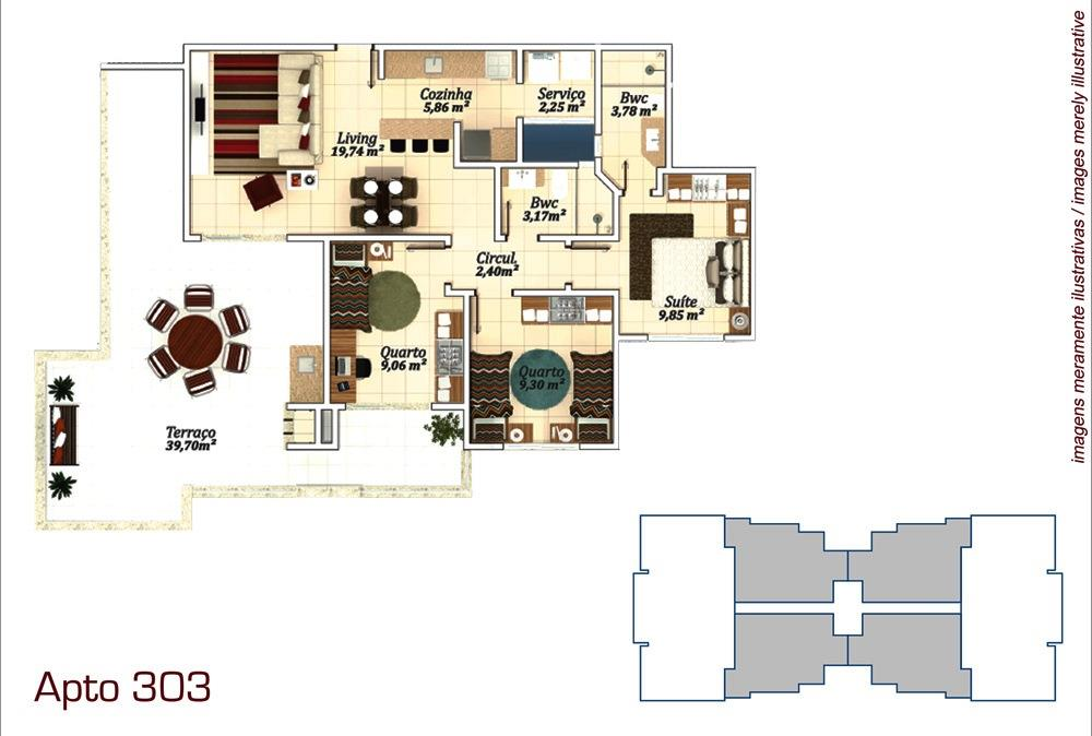 Metta Imobiliária - Apto 3 Dorm, Campeche (AP0573) - Foto 13