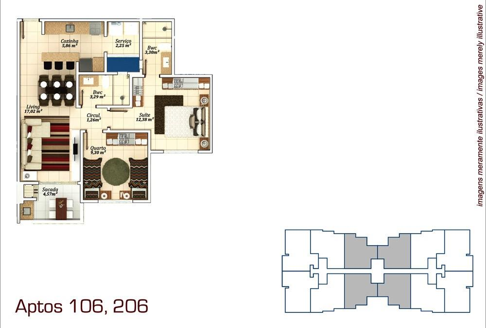 Metta Imobiliária - Apto 3 Dorm, Campeche (AP0573) - Foto 11