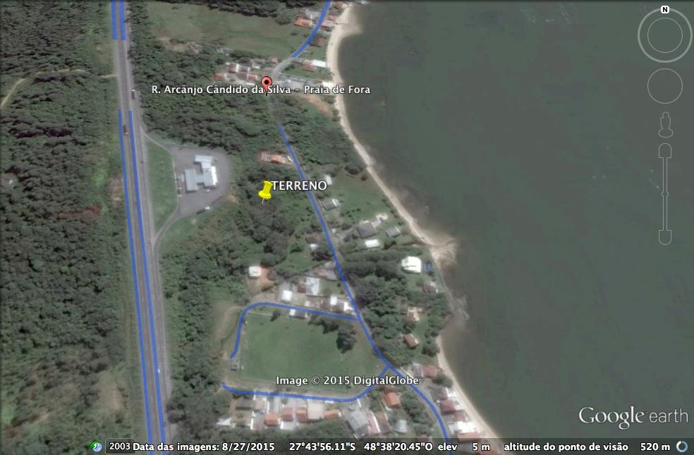Terreno, Praia de Fora, Palhoca (TE0221) - Foto 2
