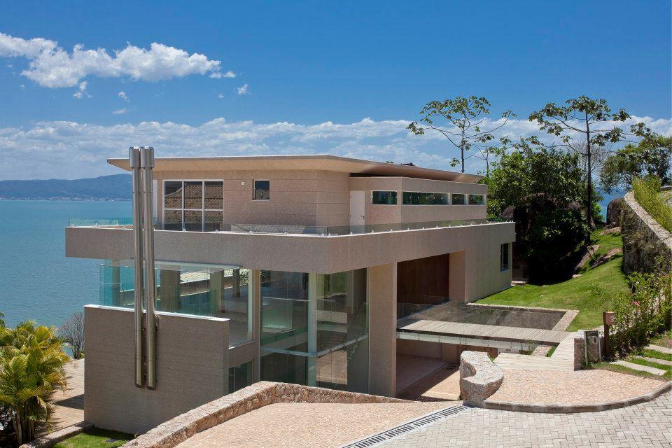 Casa 4 Dorm, Cacupé, Florianópolis (CA0074) - Foto 2