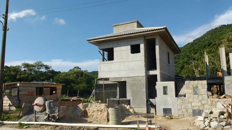 Casa 2 Dorm, Cachoeira do Bom Jesus, Florianópolis (CA0424) - Foto 5