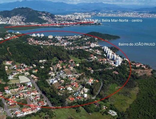 Terreno, João Paulo, Florianópolis (TE0010)