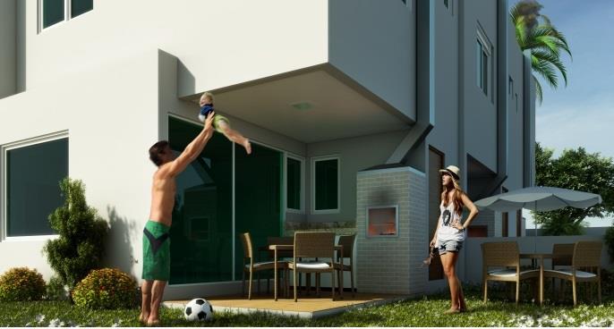 Casa 3 Dorm, Ribeirão da Ilha, Florianópolis (CA0328)