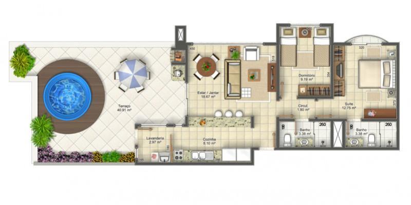 Metta Imobiliária - Apto 2 Dorm, Ingleses (AP0154) - Foto 14