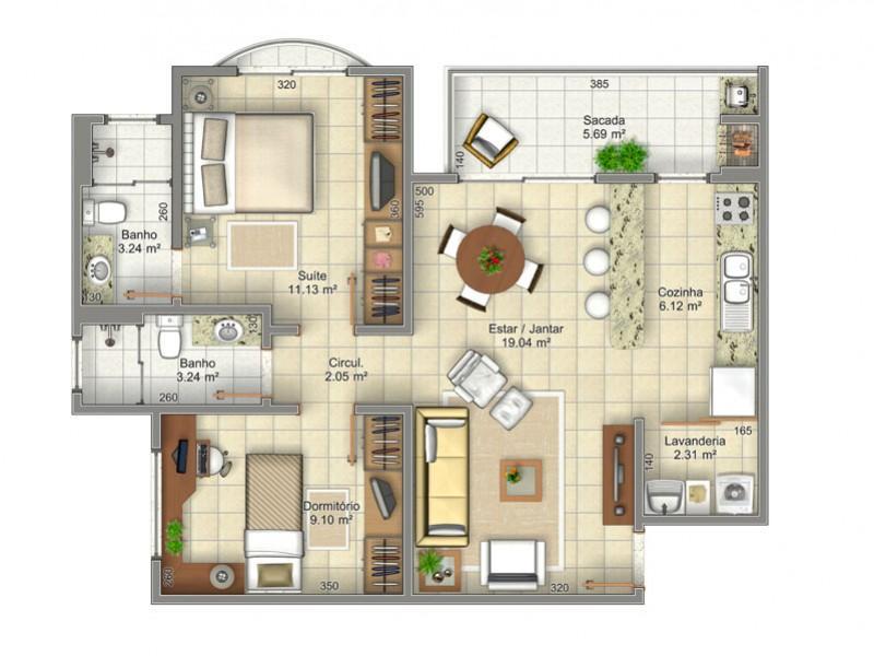 Metta Imobiliária - Apto 2 Dorm, Ingleses (AP0154) - Foto 16