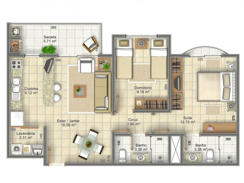 Metta Imobiliária - Apto 2 Dorm, Ingleses (AP0154) - Foto 17