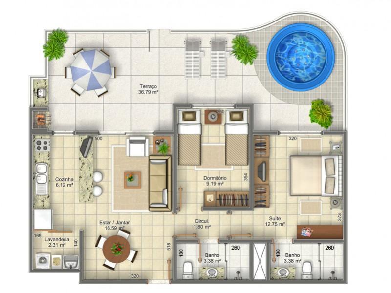 Metta Imobiliária - Apto 2 Dorm, Ingleses (AP0154) - Foto 15