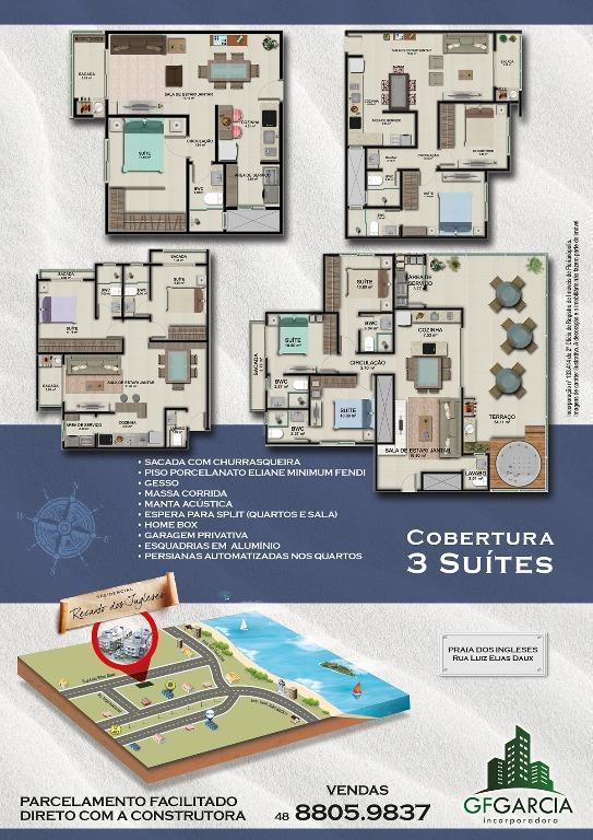 Apto 3 Dorm, Ingleses, Florianópolis (AP0515) - Foto 3