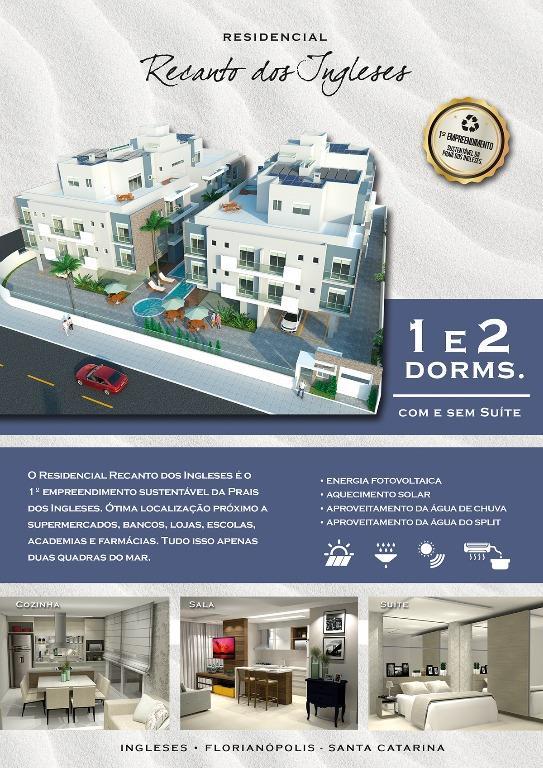 Metta Imobiliária - Apto 2 Dorm, Ingleses (AP0514) - Foto 2