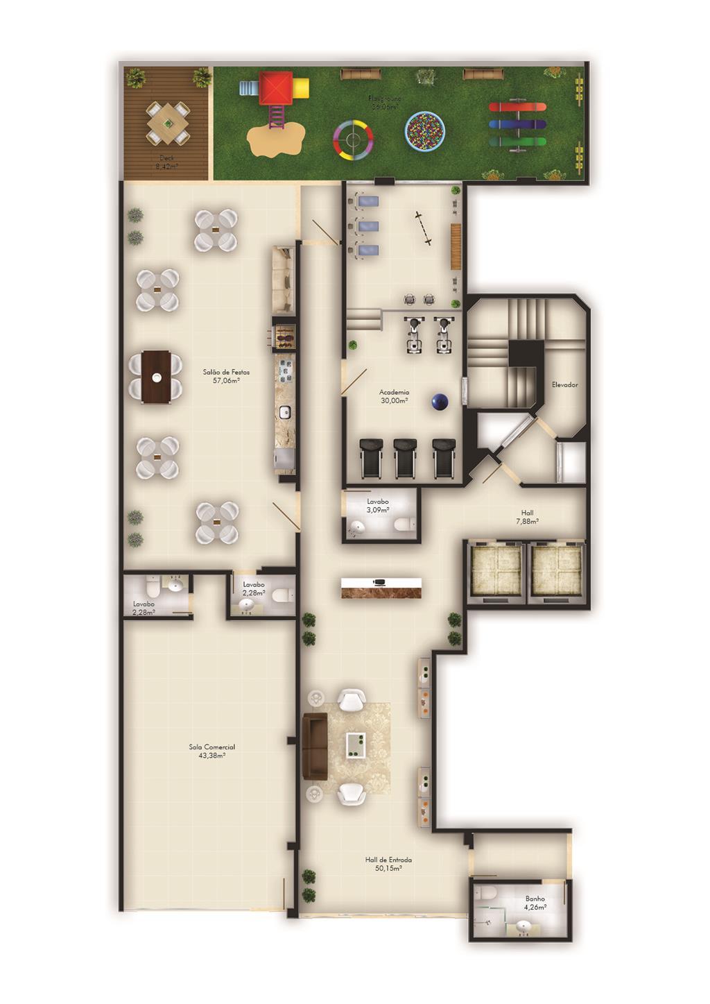 Metta Imobiliária - Apto 2 Dorm, Passa Vinte - Foto 3