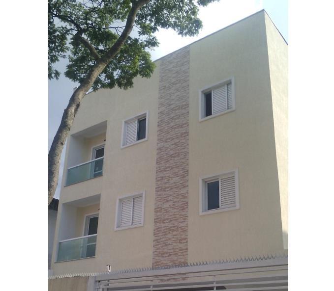 Apto sem condomínio de 43m² com 2 dormitórios em Santo Andre.