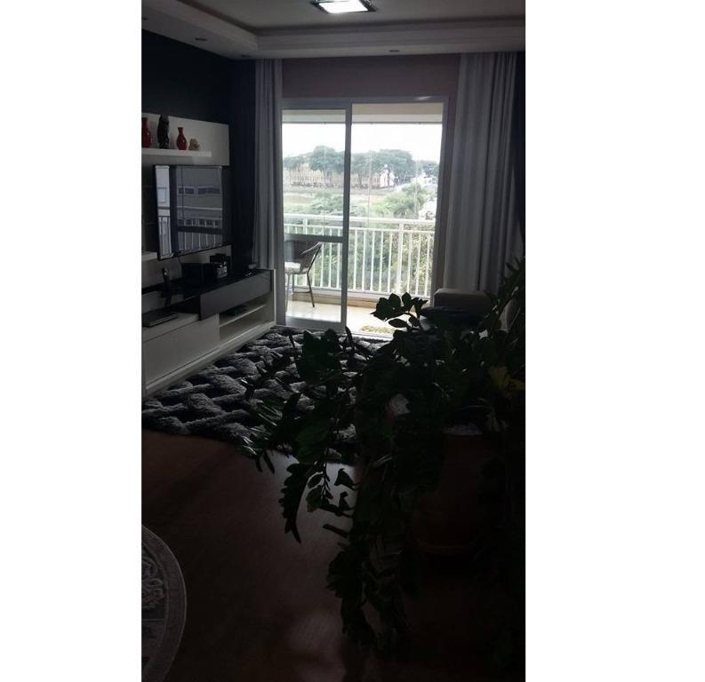 Apto de 92m² com 3 dorms c/ suite no Vitta Parque, Centro de Diadema, SP.