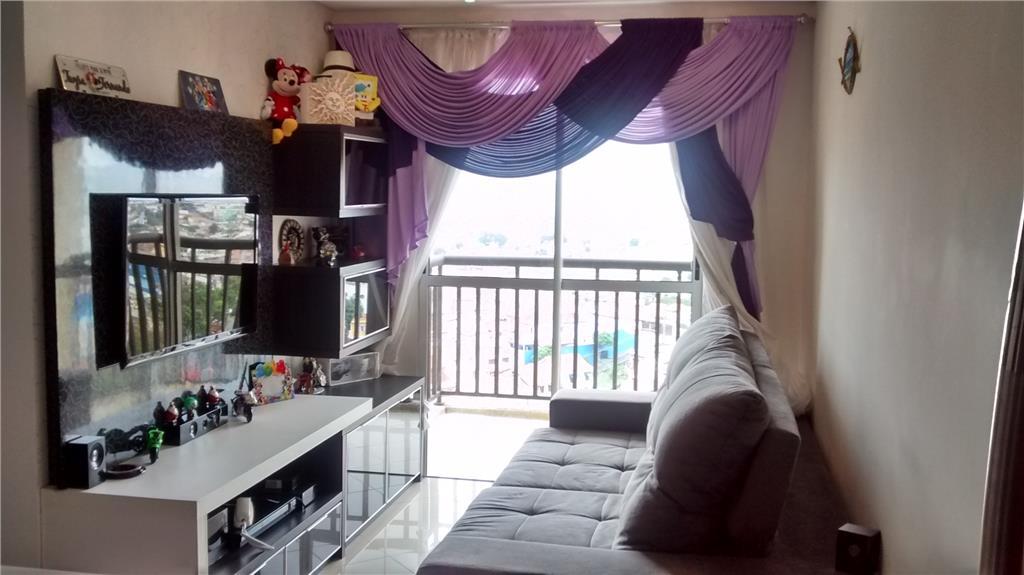 Apto de 50m² com 2 dorms no Top Life Park, em Santo André.