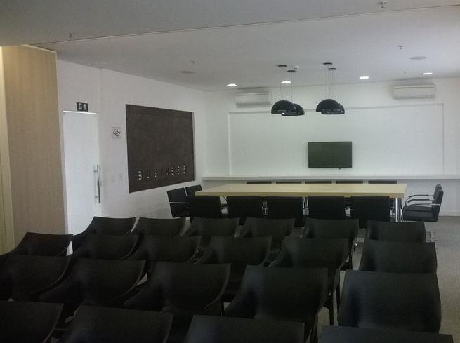 Sala comercial de 37m² no SP 150 Terraces, SBC.