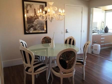 Lindo apartamento mobiliado 128m², 3 suítes e 3 vagas, no Centro de Santo André!
