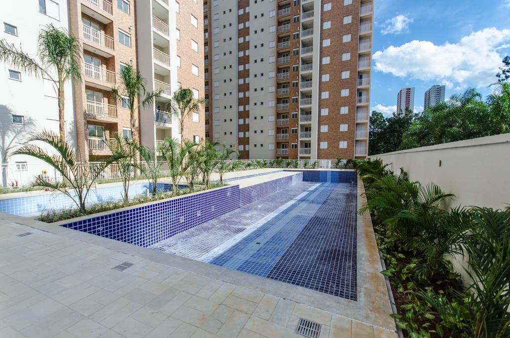 Apto de 58m² com 2 dorms c/ suite no Parque Residence, em SP.