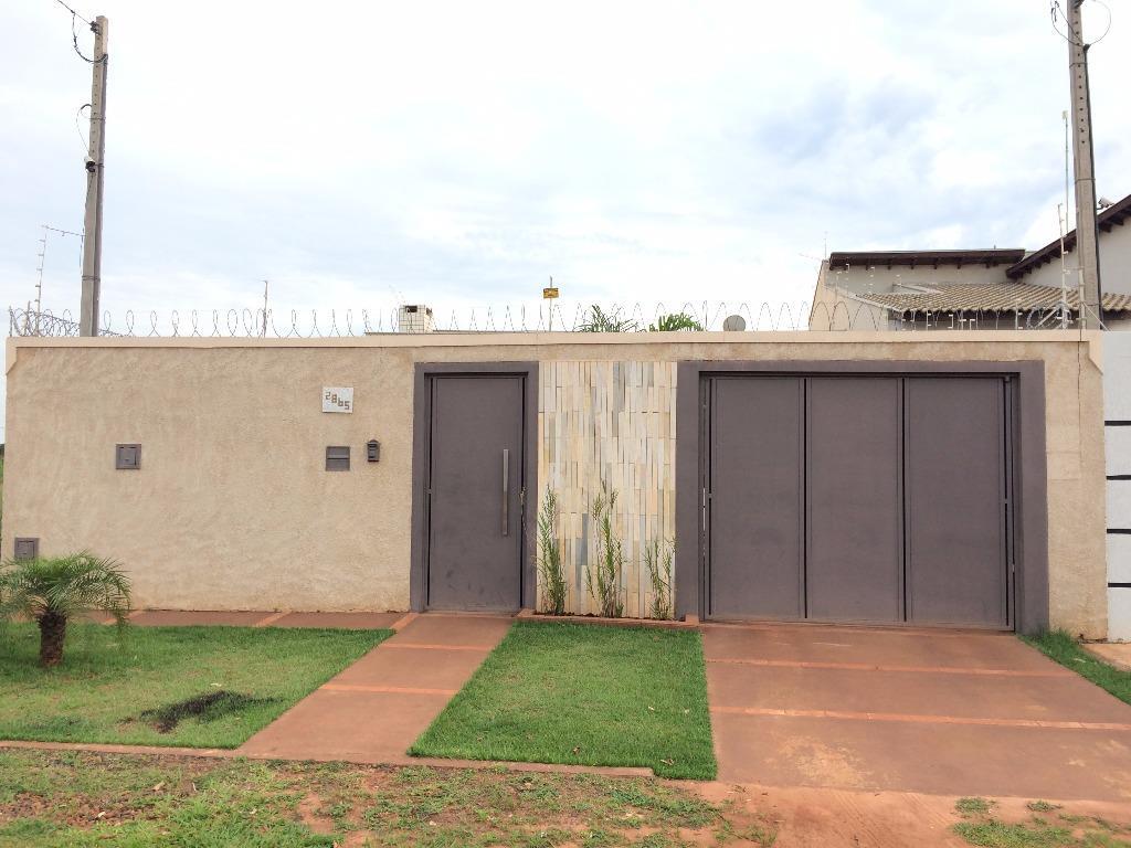 Casa à venda, Jardim Alvorada, Três Lagoas.