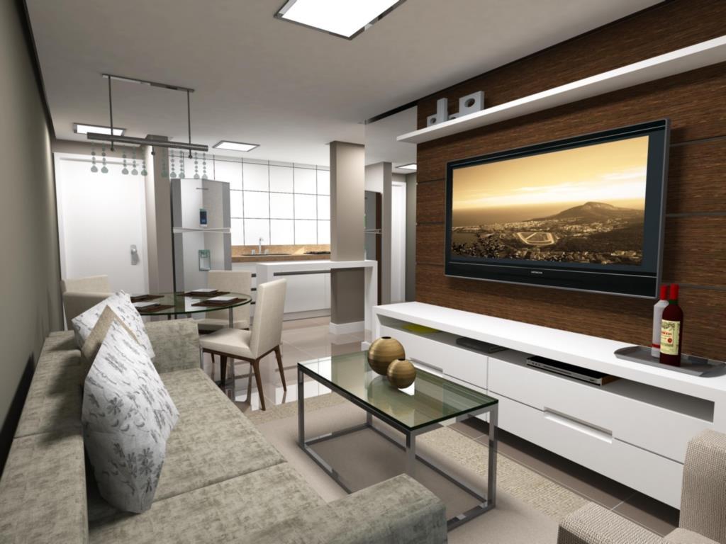 Apartamento de 2 dormitórios em Niterói, Canoas - RS