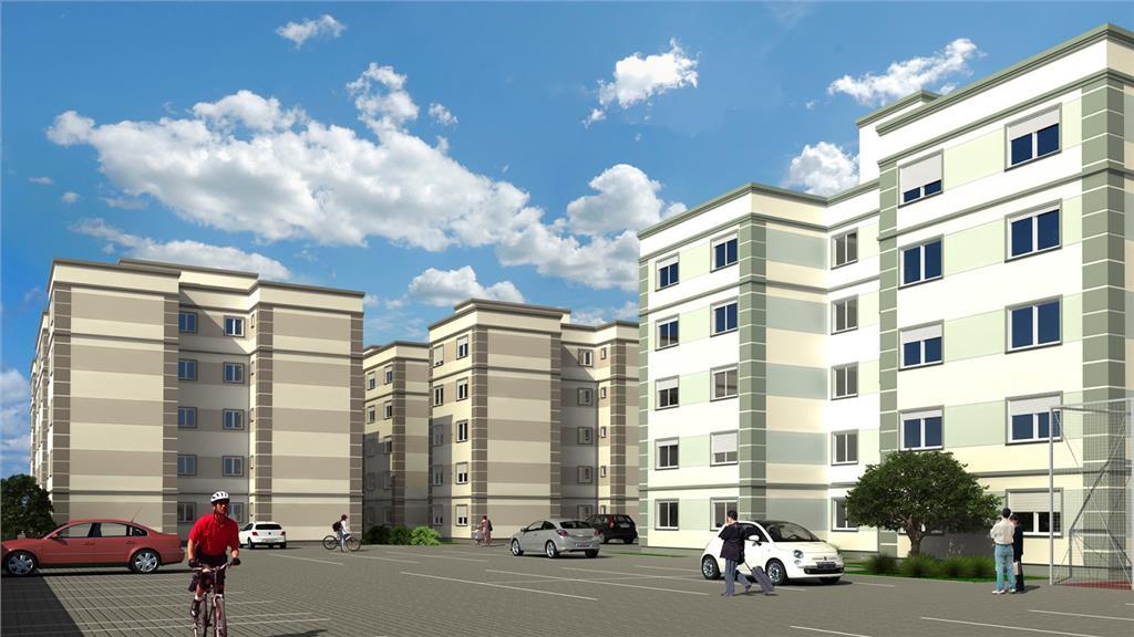 Apartamento de 2 dormitórios em Olímpica, Esteio - RS