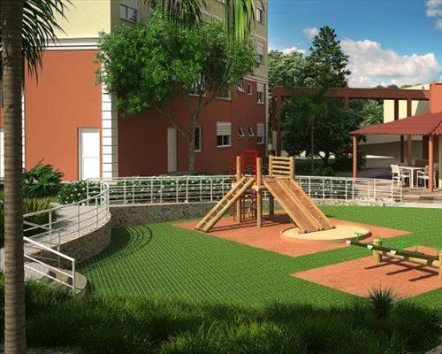 Apartamento de 2 dormitórios em Parque Amador, Esteio - RS