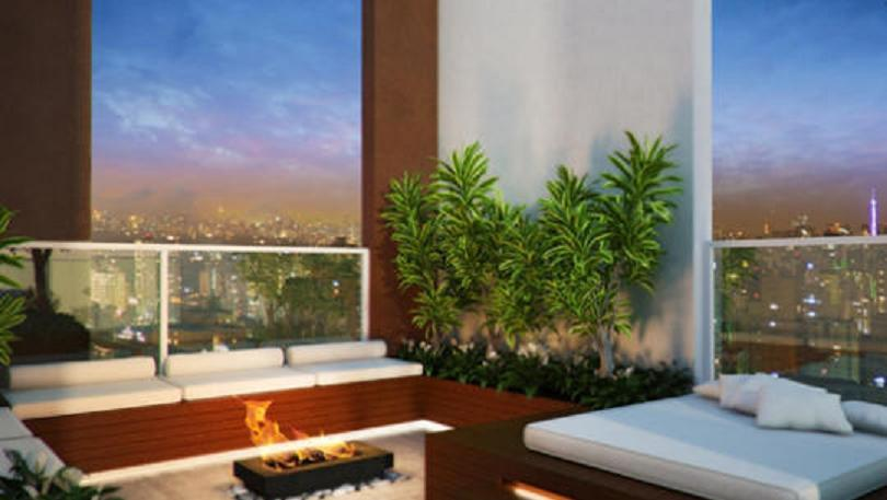 Apartamento de 1 dormitório em Brooklin Paulista, São Paulo - SP