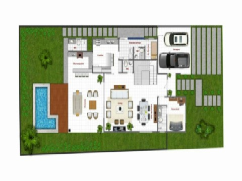 Casa residencial à venda, Florias Cuiabá, Cuiabá - CA0153.