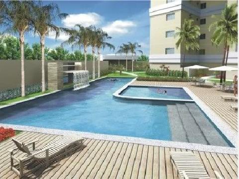 Apartamento residencial à venda, Jardim Aclimação, Garden Ville, Cuiabá - AP0061.