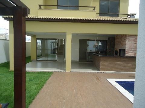 Casa residencial à venda, Loteamento Alphaville Cuiabá II, Cuiabá - CA0234.
