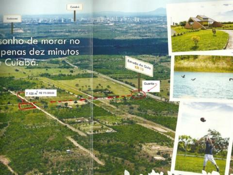 Terreno Residencial à venda, Ribeirão do Lipa, Cuiabá - TE0073.