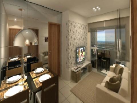 Apartamento residencial à venda, Cidade Alta, Via Ipiranga, Cuiabá - AP0234.
