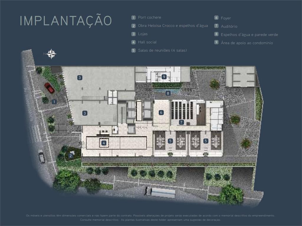 Sala em Independência, Porto Alegre - RS