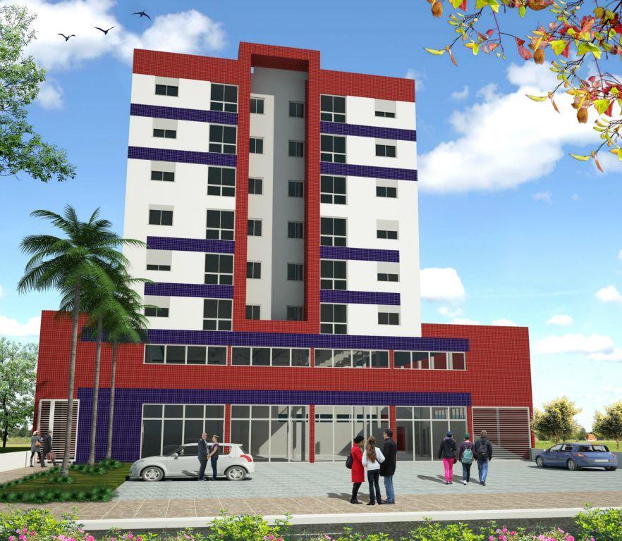 Apartamento de 2 dormitórios em Cerrito, Santa Maria - RS