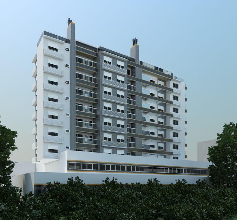 Cobertura de 3 dormitórios em Camobi, Santa Maria - RS