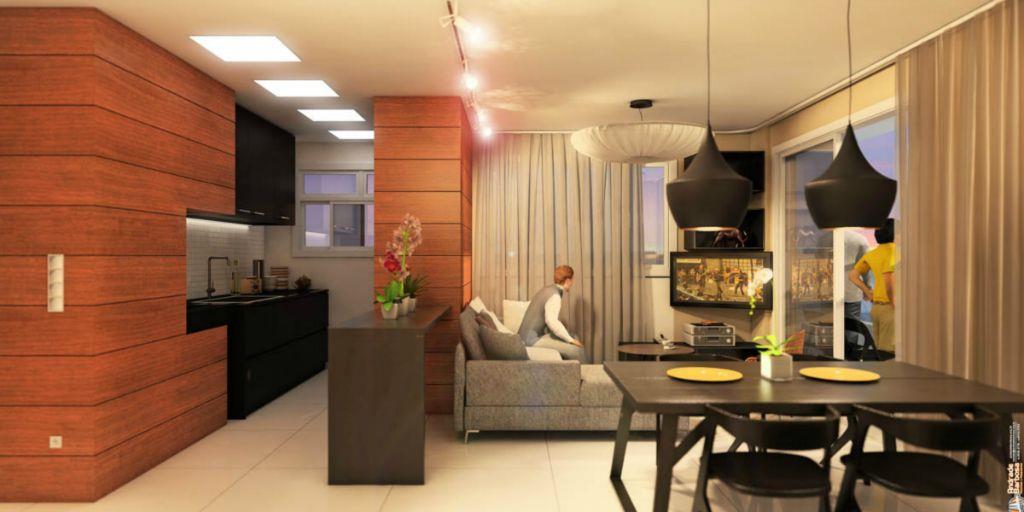 Apartamento de 2 dormitórios em Nossa Senhora De Fátima, Santa Maria - RS