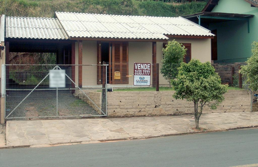 Casa de 2 dormitórios em União, Estância Velha - RS