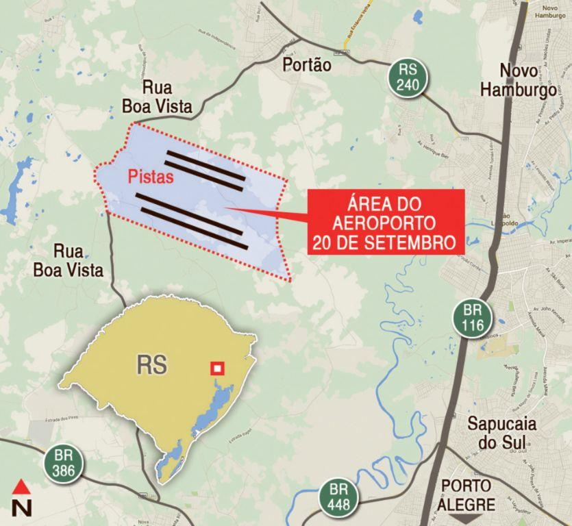 Área à venda em Sossego, Portão - RS