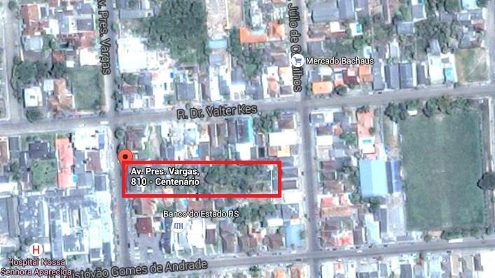 Terreno em Centro, Camaquã - RS