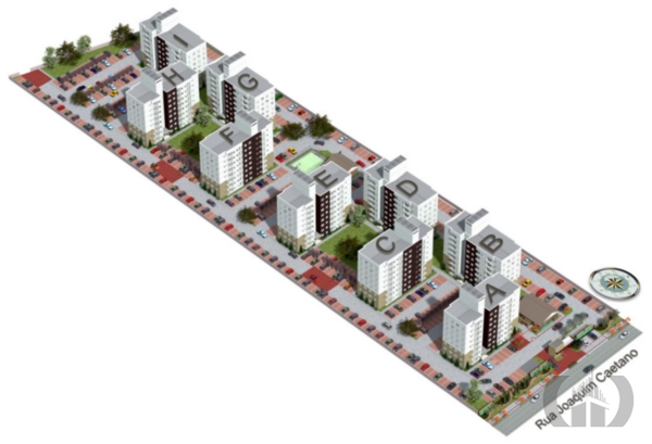 Apartamento de 2 dormitórios em Fátima, Canoas - RS